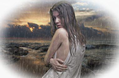 jak být hezká za deště