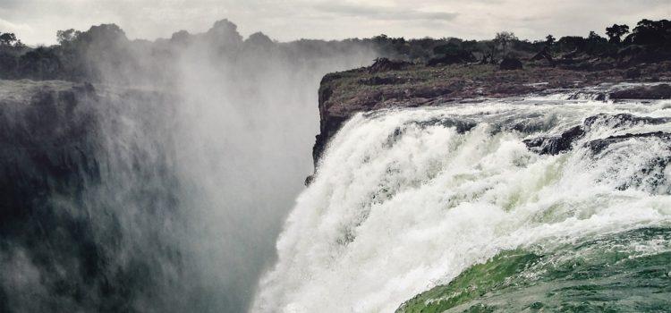 viktoriiny vodopády